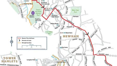 The Tour de France will weave through the borough on July 7