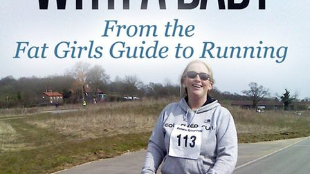 Julie Creffield on the cover of her new book