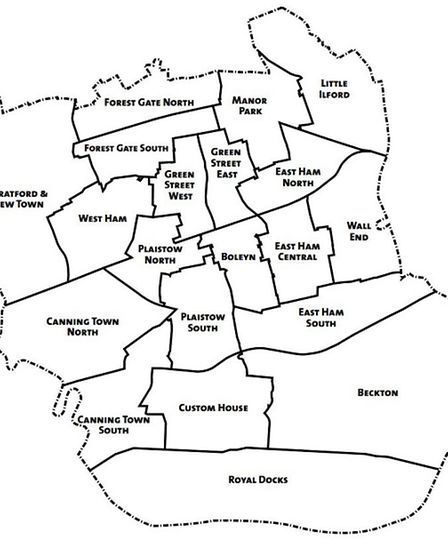 Residents vote for three councillors to represent their ward