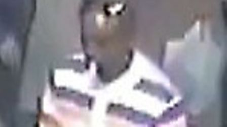 Police want to speak to this man in relation to the assault on March 16.