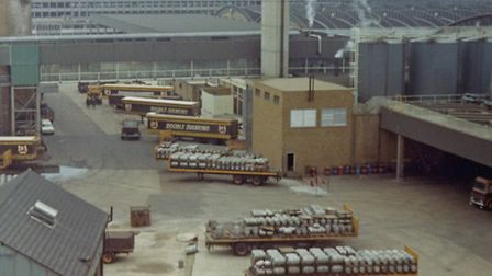 The Brewery in Romford in the 1980s before it was redeveloped into a shopping centre. Picture: Londo