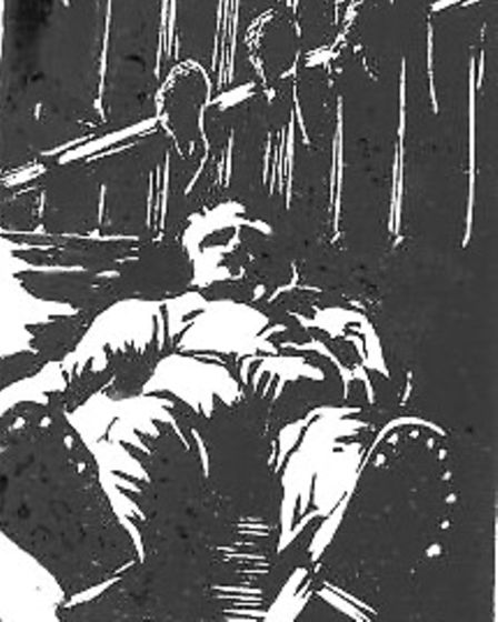 'Billy Barlow's' body had been nibbled by rats, according to some. Print: Christopher Rolfe