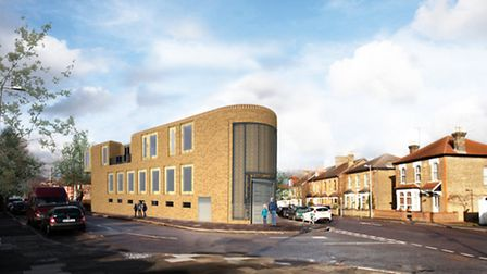 New images of South Woodford Mosque which were handed to Redbridge Council on March 31.