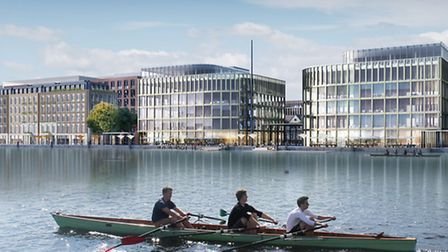 Plans to develop the 35-acre site at Royal Albert Dock have been submitted to Newham Council