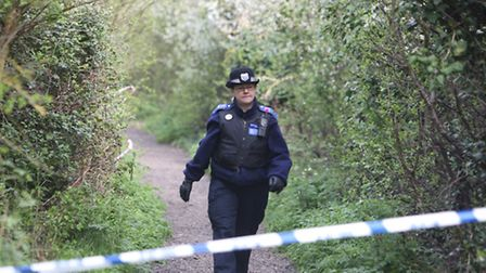 The Chase was sealed off to the public while police searched the water and surrounding area