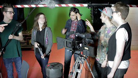 Youngsters can work alongside Bafta-nominated director Chris Atkins
