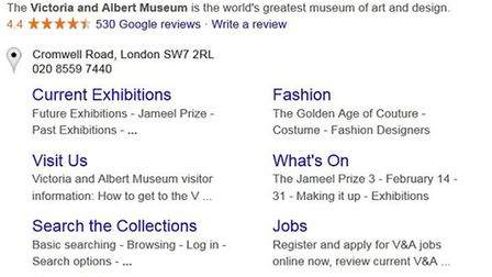 This listing on Google confused a fair few tourists.