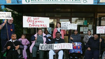 The Greenhill day centre is to become a temporary gym