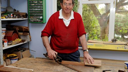 Geoffrey Walkley, 69, who spent 35 years building a dolls house for his daughter