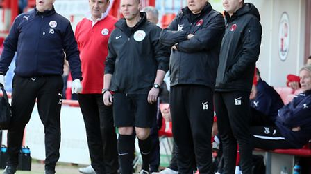 Orient boss Russell Slade looks on from the touchline (pic: Simon O'Connor)