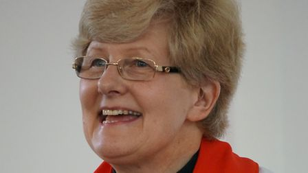 Rev Jeanette Meadway of St James Church