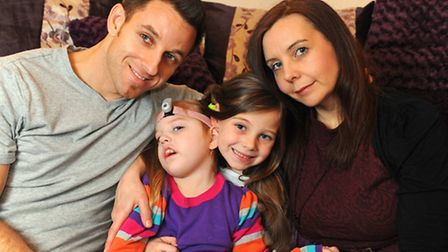 Daisy Newman has severe cerebal palsy. Her family want to raise funds to send her to Florida.Wayne N