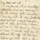 Esther Hart's letter to her mother in Chadwell Heath, which was written on the Titanic on the day it
