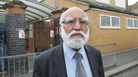 The chairman of The League of British Musims, Bashir Chaudhry Photo credit: Paul Bennett