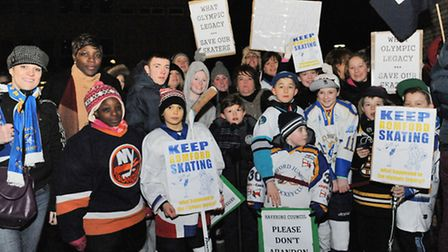In 2011 Cllr Ron Ower petitioned against the closure of Romford Ice Rink