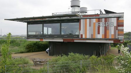 The RSPB centre at the marshes provides food, shelter and souvenirs for visitors.
