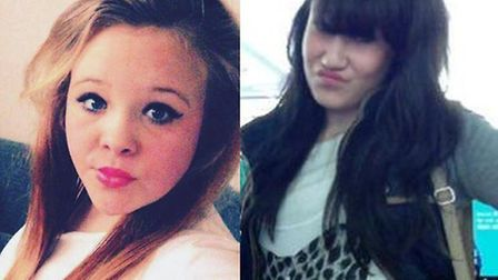 Missing teenagers Chloe James, 15, and Starlene Dempsey, 12