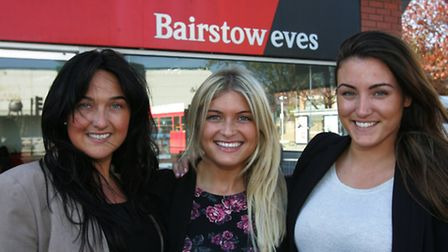 Estate Agents Jessica Noble, Becky Lamb and Nicki Newton