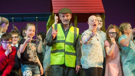 Around 200 youngsters from across Havering and other boroughs starred in the show