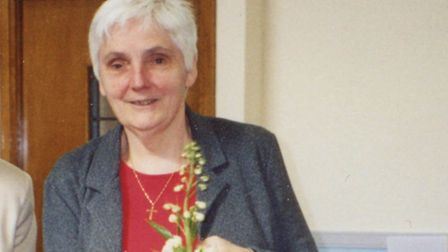 Carol Thornton sadly passed away in April. Picture: Olive Buckley