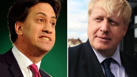 Ed Miliband launched the Labour Party's local and European election campaign at a Barkingside leisur