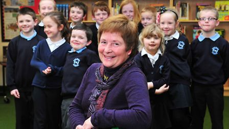 Fen Park Primary School, governor Susan Whitthames has received an MBE for her services to education