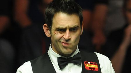 Snooker ace Ronnie O'Sullivan (Picture: Anna Gowthorpe/PA Wire)