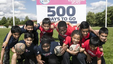 Pupils from Curwen Primary School showcased their skills at East London Rugby Club