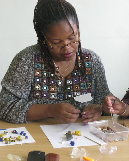 Adult carers in Newham have been taking part in jewellery making workshops