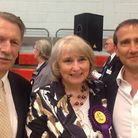 David Johnson, Patricia Rumble and Cllr Lawrence Webb, the new Gooshays team of councillors