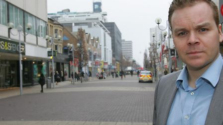 Ben Collins, Business Improvement District (BID) manager in Ilford town centre