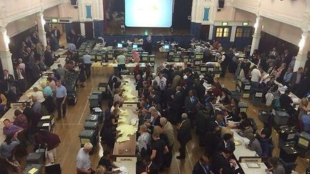 Votes being counted after polls closed at 10pm on Thursday evening
