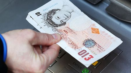 Thieves are targeting people at cash machines. Picture: Press Association
