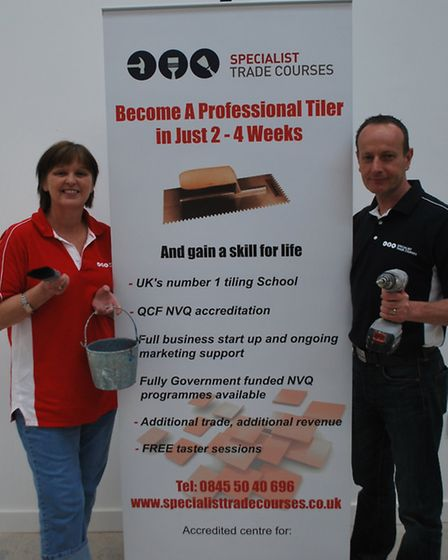 Manager Jean Thomson and owner Rob Botten