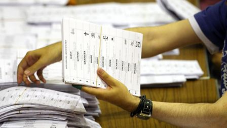 Yesterday's votes will be counted at the Velodrome (Picture: Scott Heppell/PA Archive)