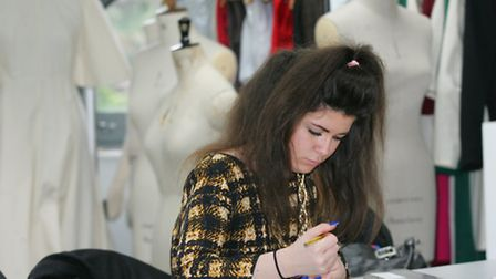 Fashion student Tina Bowers will take part in the challenge