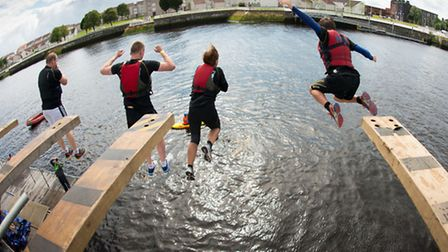 The River Rat Race will take place in the Dockkands on August 16