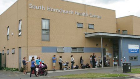 South Hornchurch Health Centre where the closing clinic is based