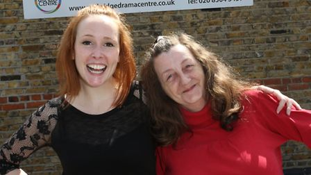 Kylie Walsh and Cheryl Allen are part of a project staging a First World War play. They are looking