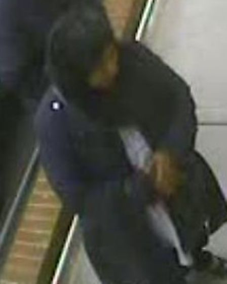 Police wish to talk to this person in connection with the theft. Picture: Met Police