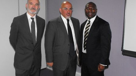Andrew Boff, Conservative Group Leader of the London Assembly, Nadhim Zahawi, MP for Stratford-on-Av