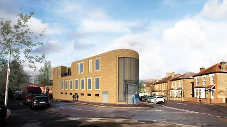 Images of South Woodford Mosque which were handed to Redbridge Council