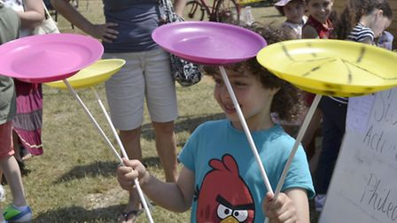 Plate spinning at last year's Fairlop Fair. [Picture: Ron Jeffries]
