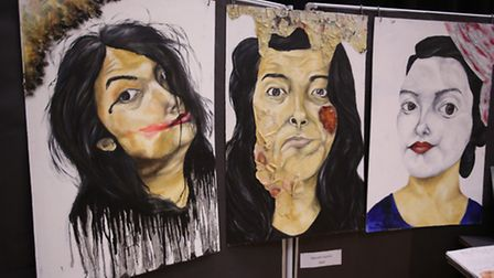 Loxford School of Science and Technology in Ilford hosted an exhibition of art, textiles and photogr