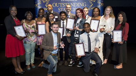 Winners with their awards (pic: Michael Cockerham)