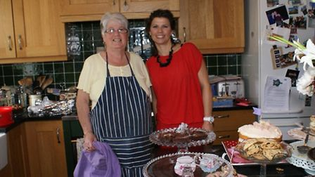 L-R Mother Valerie Burch and daughter Michelle Van Lint