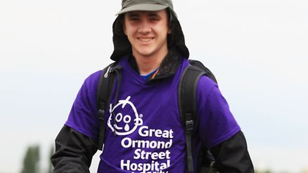 Henry Case goes in a three day fire and ice trek in Iceland to raise money for Great Ormond Street H