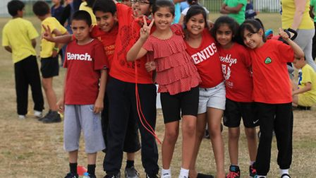 Sports day at Cranbrook Primary School
