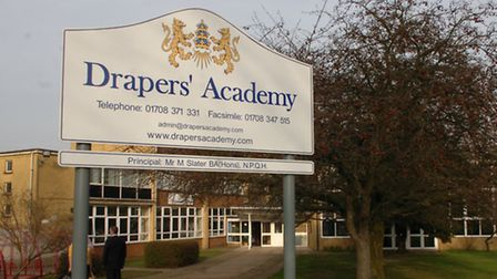 Drapers' Academy in Harold Hill is run by the trust behind the new free school