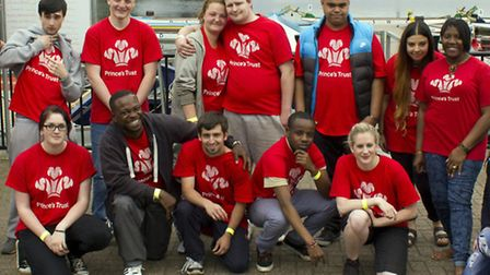Students from Newham College took part in the annual Princes Trust Morgan Stanley race to help raise